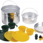 Stansport Deluxe 16 piece Four Party Aluminum Cook Set