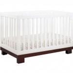 babyletto Modo 3 in 1 Crib with Toddler Rail, Espresso White