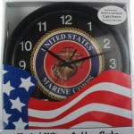 Marines Musical Wall Clock