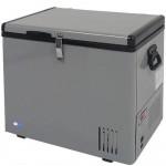 Whynter Quart Portable Refrigerator Freezer, Platinum