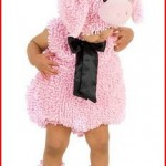 BabyToddler Pig Halloween Costume Bubble Suit