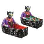Beistle Inflatable Vampire and Coffin