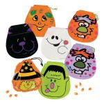 Drawstring Halloween Goody Bags