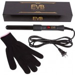 EV Beauty Professional Ceramic Clipless Curling Wand 25mm.