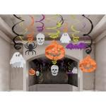 Halloween Hanging Swirl Decorations 30 pack