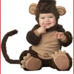 InCharacter Baby Lil' Monkey Costume