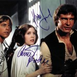 Star Wars Cast Signed Autographed