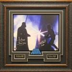 Star Wars signed, Officially Licensed, 16x20 photo Matted and framed