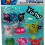 Furby Decoration Character Stickers