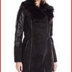 Steve Madden Women's Faux Shearling Coat