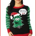 Ugly Christmas Sweater Funny Women's