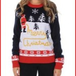 Women's Ugly Christmas Sweater - Yellow