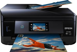 Epson Expression Photo XP 860 Wireless Color Photo Printer with Scanner and Copier CD DVD