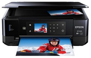 Epson Expression Premium XP 620 Wireless Color Photo Printer with Scanner and Copier CD DVD Printing